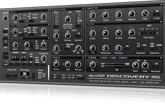 discoDSP - Discovery Pro